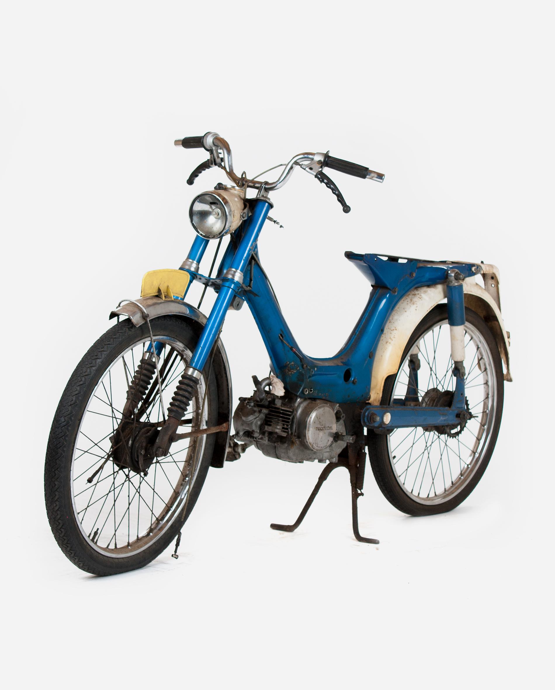 Honda-pc50-projectje-lv · Fourstrokebarn
