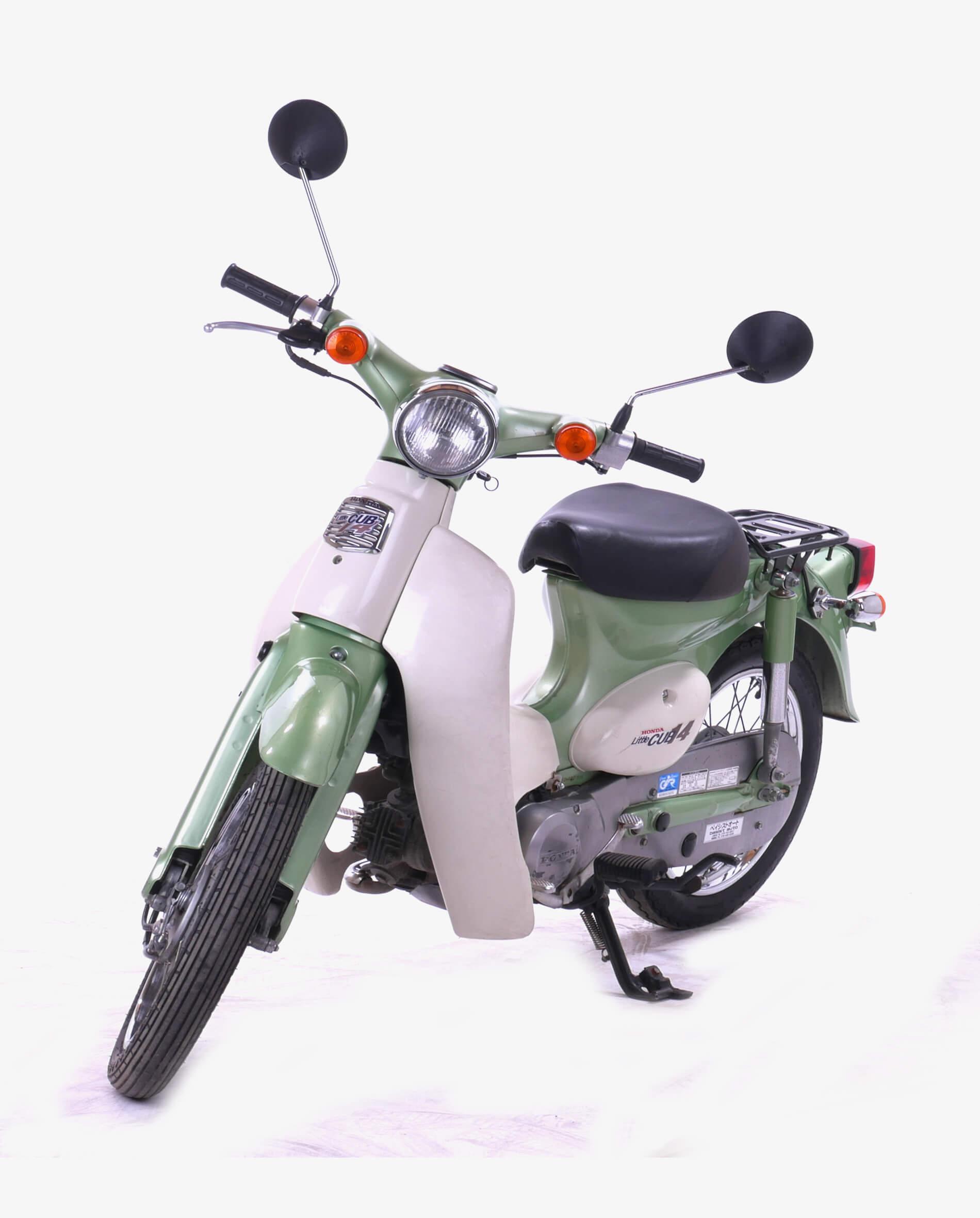 Honda LittleCubGroen_2 · Fourstrokebarn