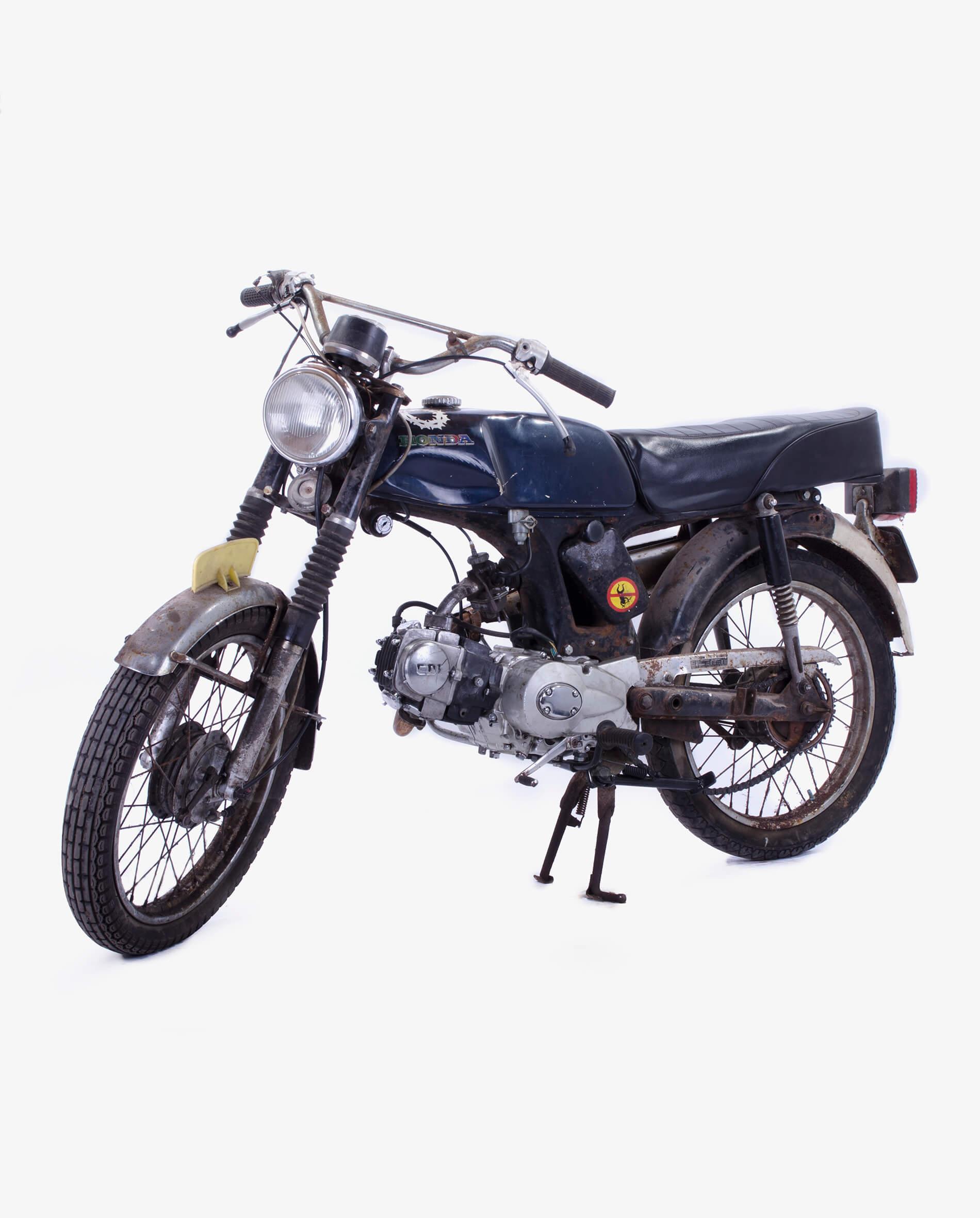 Honda SS50 Project · Fourstrokebarn