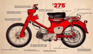 C100T_ C105T_CT200 Trail cub 1961