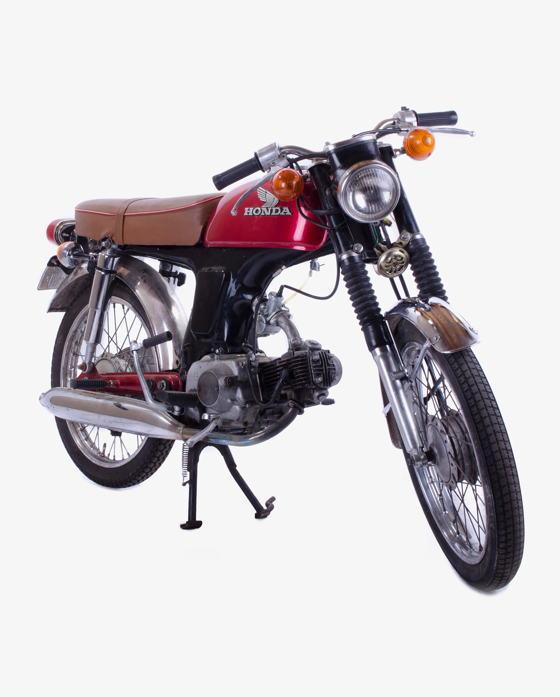 Honda Benly with SS50 frame · Fourstrokebarn