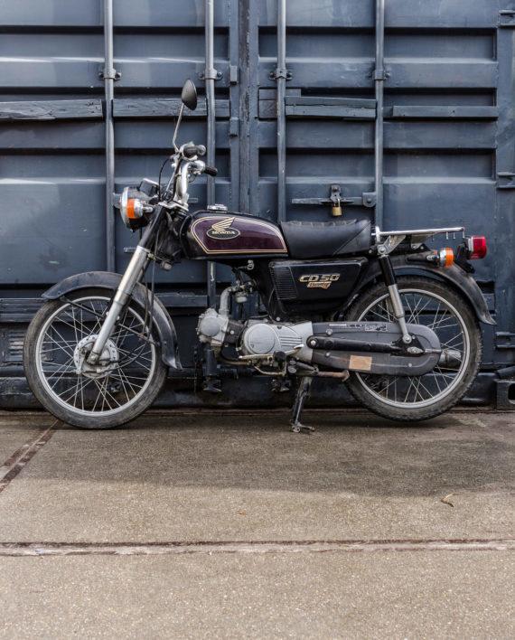 Honda Cd50 Benly 10313km 183 Fourstrokebarn