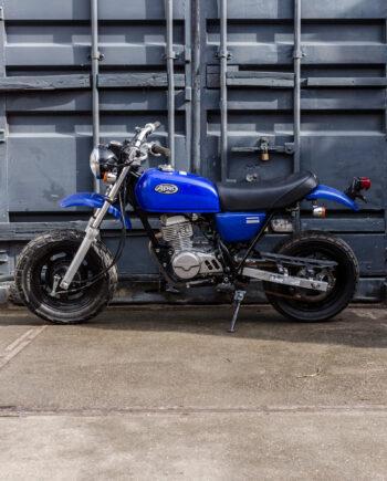 Honda Ape blauw (km. 3972)