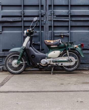 Honda Little Cub groen  (68189km)  geen sleutels - https://fourstrokebarn.com