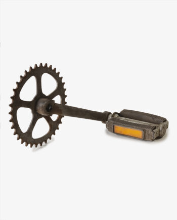 Honda P50 trapper crank met tandwiel (nr. 4239) - https://fourstrokebarn.com