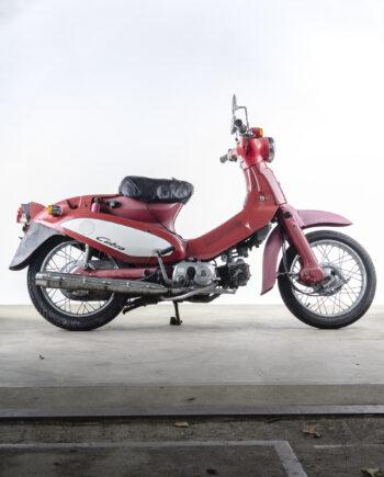 Honda C50 Cubra cub rood - https://fourstrokebarn.com