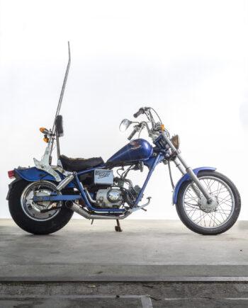 Honda Jazz 50 blauw