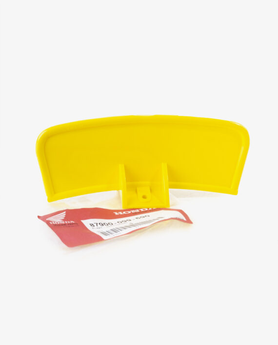 Yellow plate Honda Novio Amigo