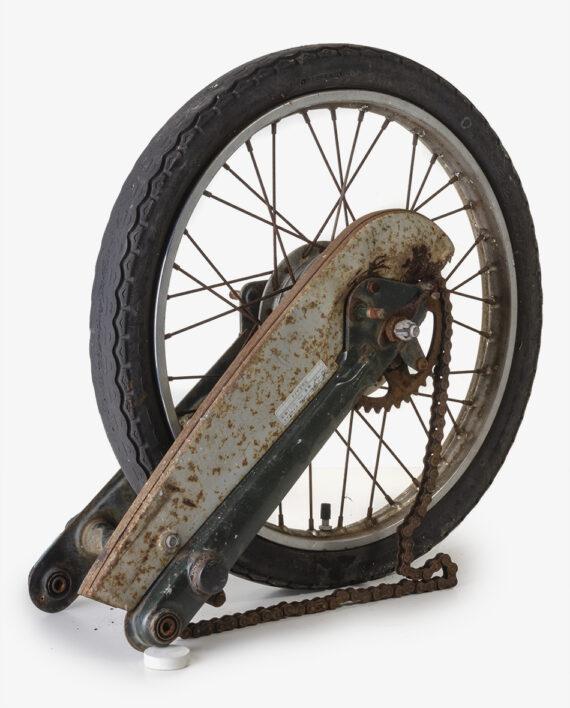 Achterbrug met wiel Honda C50 CD50