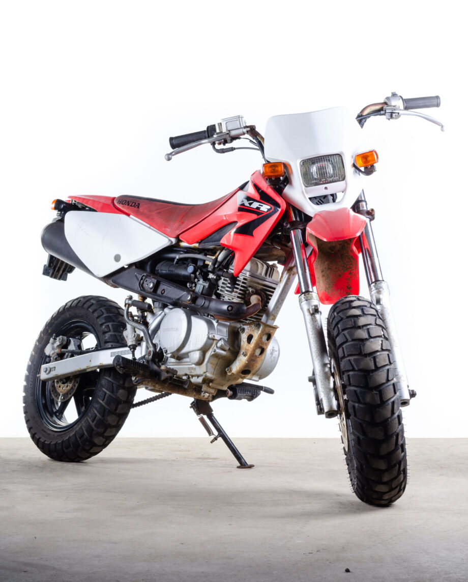 Honda XR50 Motard - https://fourstrokebarn.com