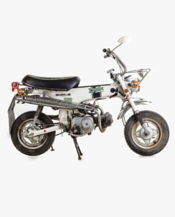 Honda ST50 White Dax - https://fourstrokebarn.com