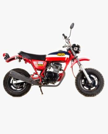 Honda Ape 50 Rood/ Wit/ Blauw (km stand 1146)