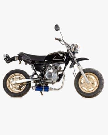 Honda Ape 50 zwart (km stand 8100)