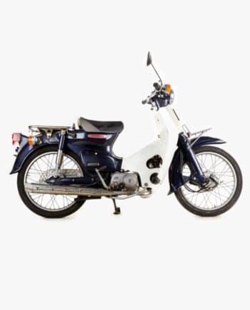 Honda C50 Super Cub blauw