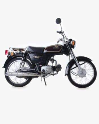 Honda CD50 Benly Zwart Bruin 34751 PTX_0906