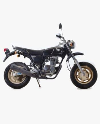 Honda Ape 100 zwart 2870 PTX_1132