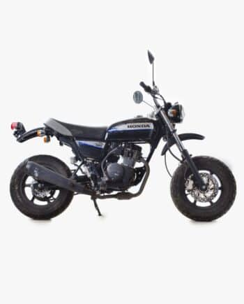 Honda Ape 50 zwart met injectie (km stand 18043)