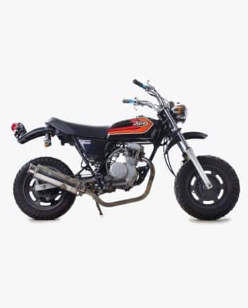 Honda Ape zwart (Km stand 3599)