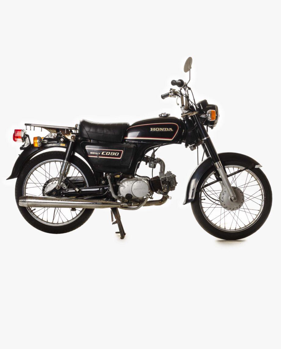 Honda Benly CD90 Zwart 7042 PTX_1903