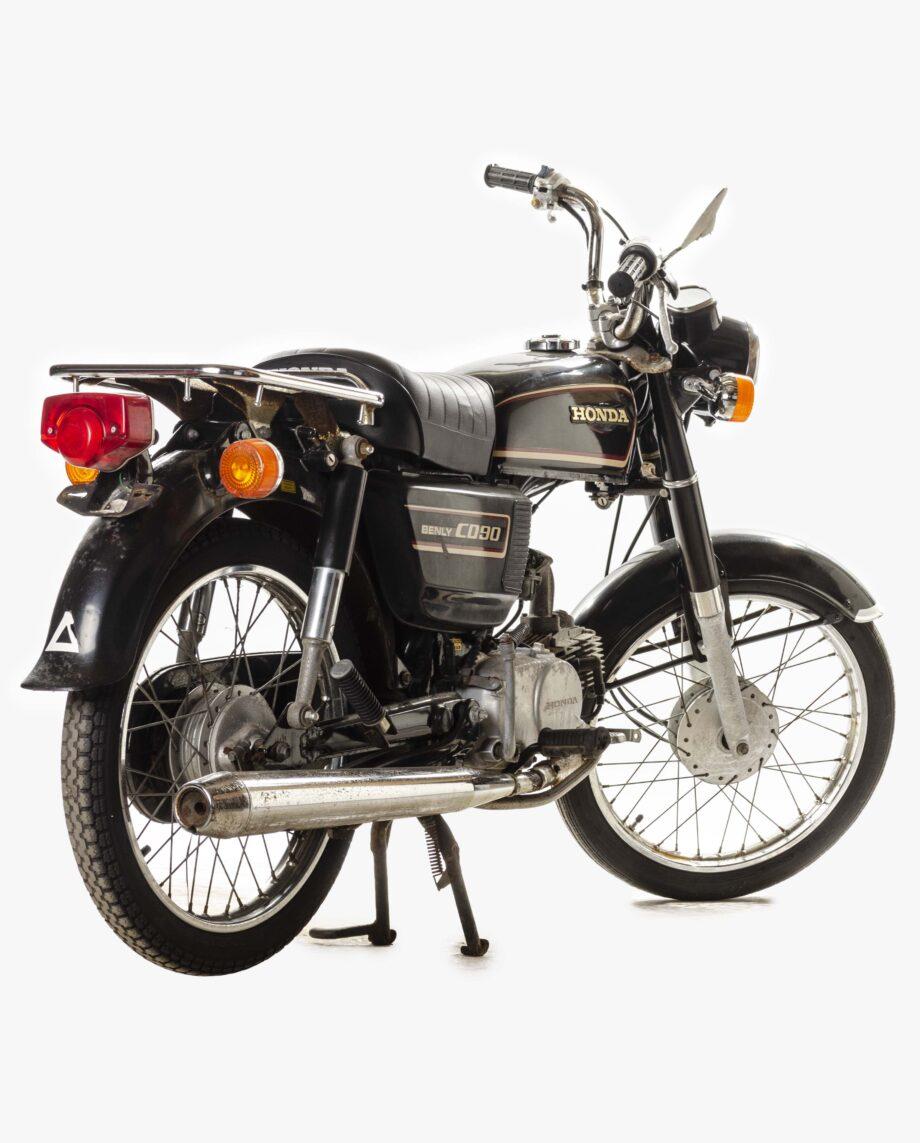 Honda Benly CD90 Zwart 7042PTX_1904