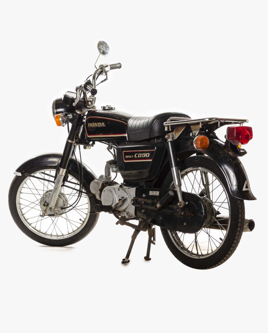 Honda Benly CD90 Zwart 7042PTX_1905