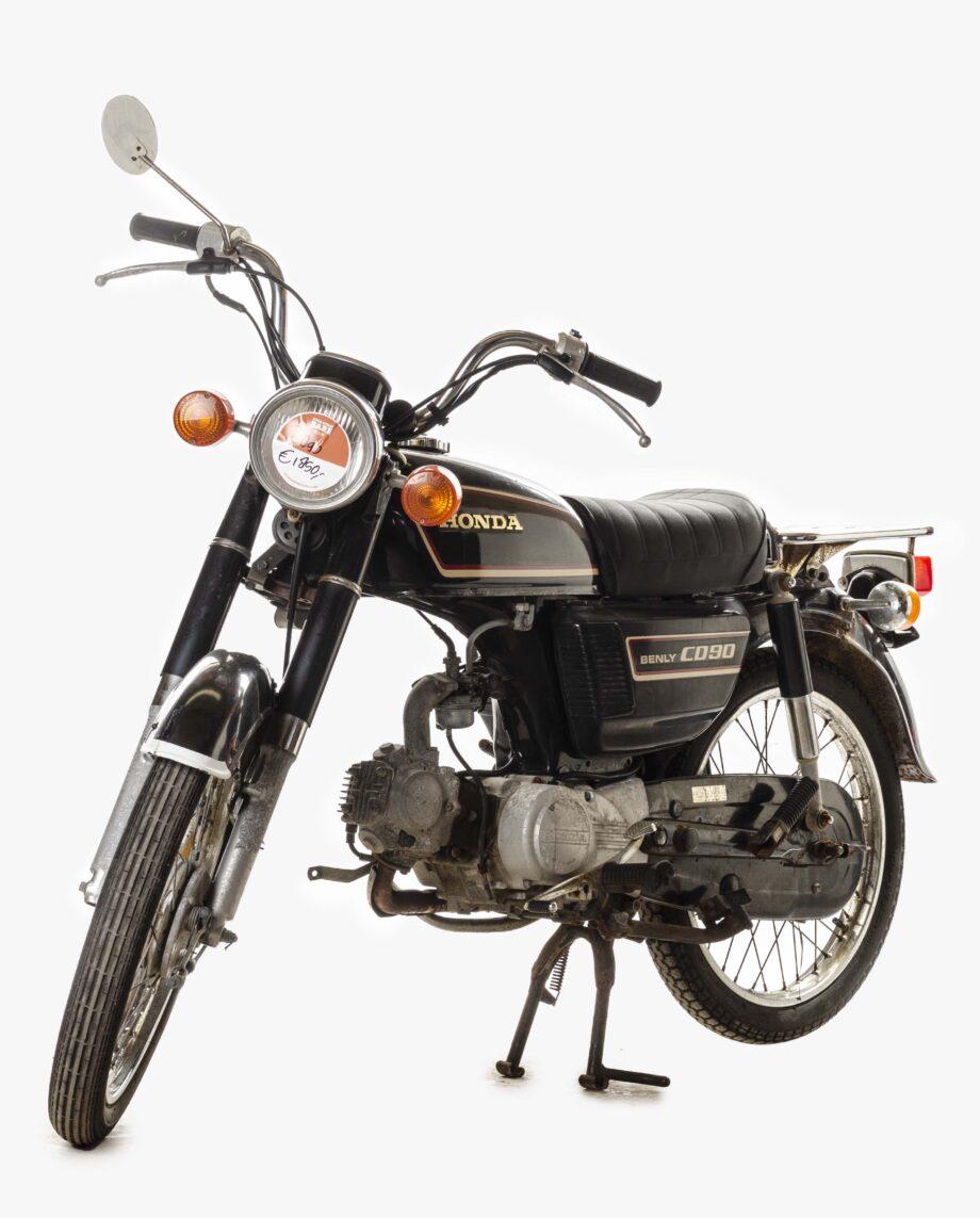 Honda Benly CD90 Zwart 7042PTX_1907