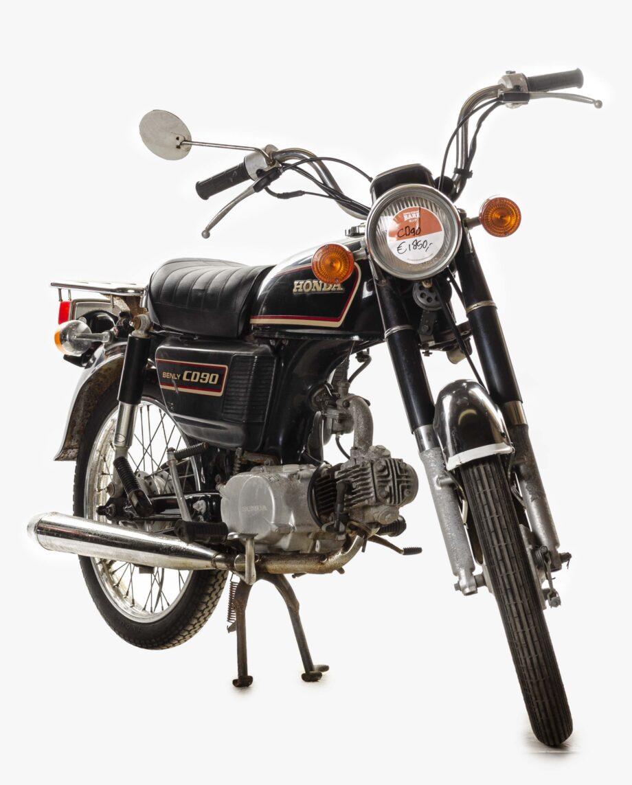 Honda Benly CD90 Zwart 7042PTX_1908