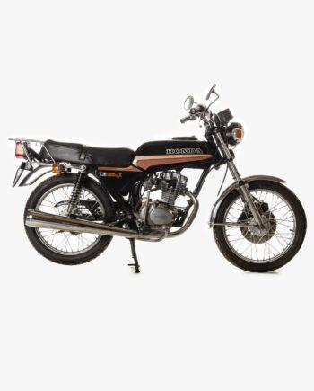 Honda CB125 JX Zwart 16296 PTX_1896
