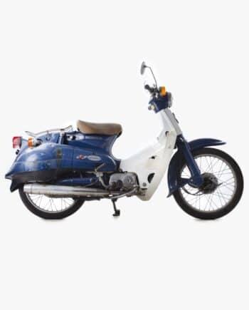 Honda C50 Cubra blauw 24140 km - https://fourstrokebarn.com