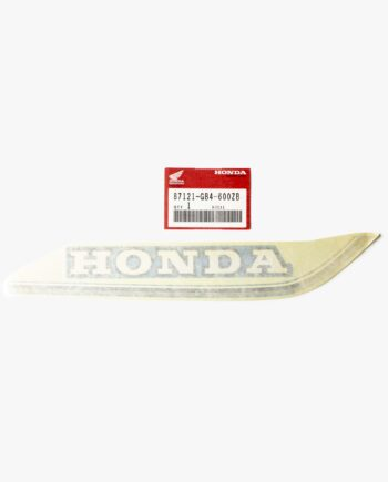 Gas tank frame sticker Honda C50 cub