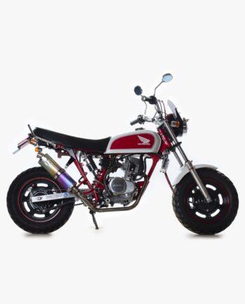 Honda Ape Red and White - 16558 km