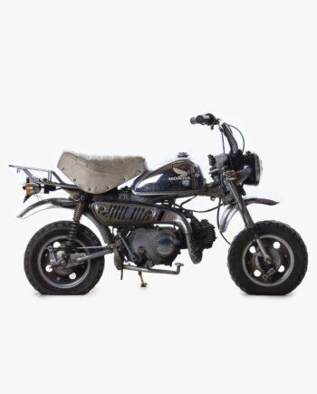 Honda Ape Rood-Wit - 16558 km - https://fourstrokebarn.com