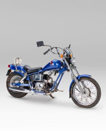 Honda Jazz blauw