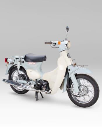 Honda little cub blauw