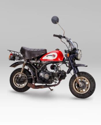 Honda Monkey Rood - 3590 km - https://fourstrokebarn.com