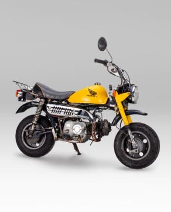 Honda Monkey Geel - 6889 km - https://fourstrokebarn.com