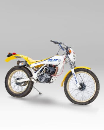 Honda TLM200R Wit-Geel - 9600 km