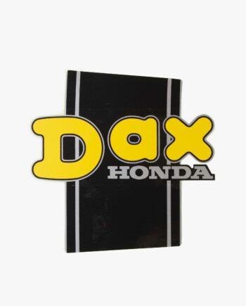 Fuel tank sticker Honda Dax (8834)