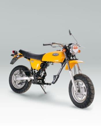 Honda Ape 100 Rolling Frame Yellow