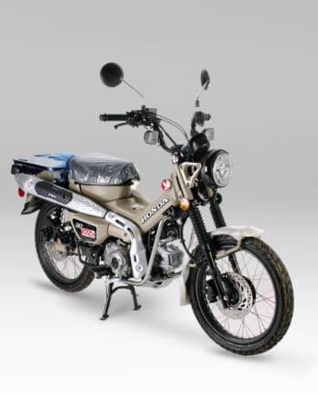 Honda CT125 Nieuw Camo - VERKOCHT - https://fourstrokebarn.com