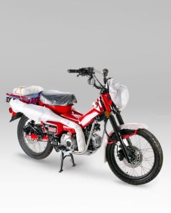 Honda CT125 Nieuw Rood - VERKOCHT - https://fourstrokebarn.com
