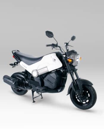 Honda Navi 110 Black and White