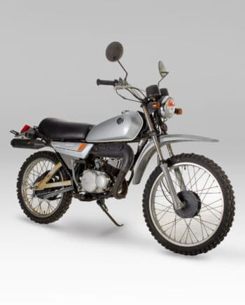 Yamaha MR50 Zilver