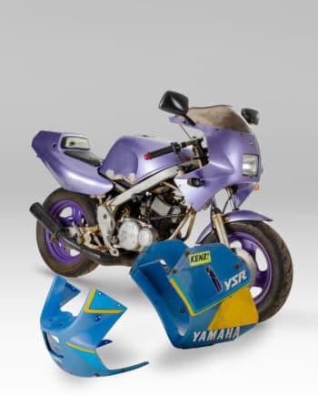 Yamaha YSR50 Paars Project