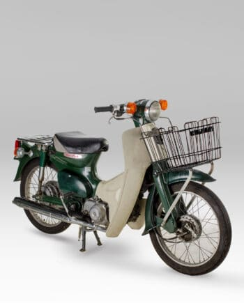 Honda C50 Super Cub Green with Basket