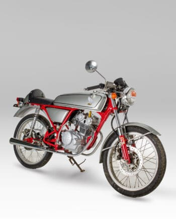 Honda Dream 50 Zilver
