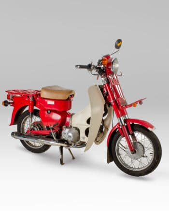 Honda MD90 Mail Delivery Cub Rood - https://fourstrokebarn.com