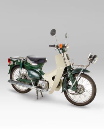 Honda C50 Super Cub Groen