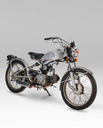 Honda AC17 Solo 50 Silver