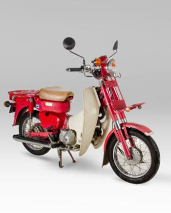 Honda MD90 Mail Delivery Cub Red